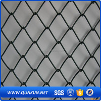 China Wholesale PVC coated Easily Assembled Metal Chain Link Mesh fence