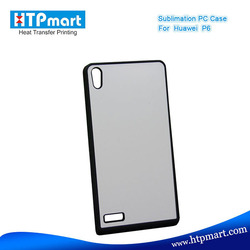 2D pc blank sublimation phone case for huawei ascend p6 case