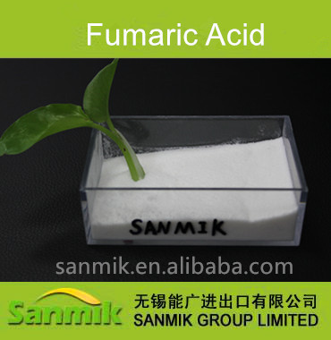 supply industrial grade fine powder fumaric acid 99% min
