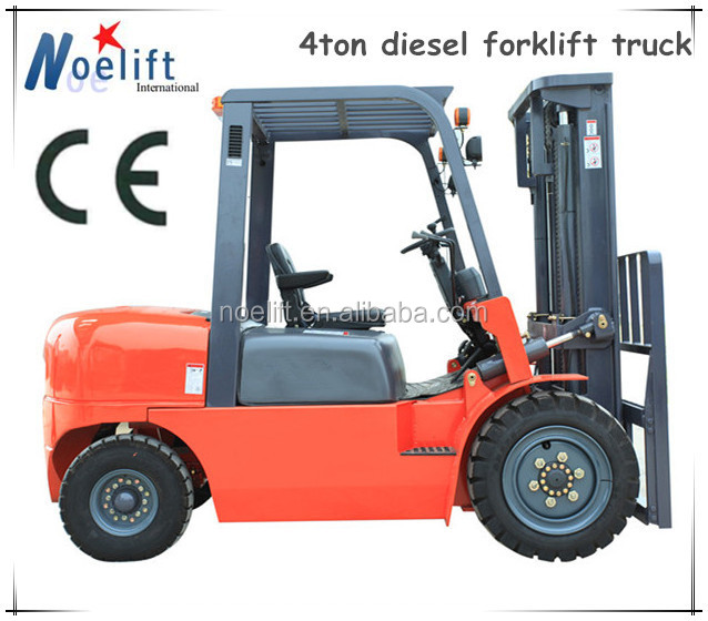 4ton diesel fork lift truck with no clutch pedal / diesel forklift truck with automatic transmission