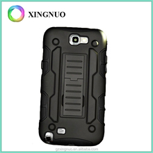 Full-body Rugged Belt Clip Case Phone Case Robot Case for Samsung Galaxy Note 2 Hot New Products for 2016