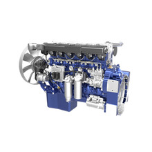 water cooling 6 cylinder 116kw Weichai diesel engine WP7G158E301 for excavator