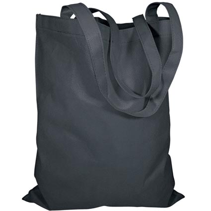 Custom reusable organic cotton black tote bag cotton canvas