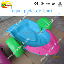Kids Plastic Pedal Boat / Swimming Pool Aqua Paddler Boat For Sale