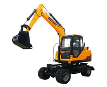 China Shandong Top Used Wheel Hydraulic Excavator For Sale