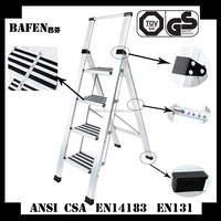 wholesale China merchandise standard home folding ladder multi-purpose step cheap portable ladder
