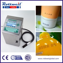 Automatic date code serial number printing machinery for beverage bottle