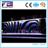 Digital music water writing curtain fountain
