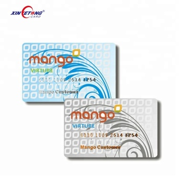 ISO14443A F08 rfid smart card price with customized service
