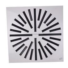 HVAC systerm round shape air grille ceiling