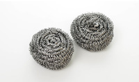 SS-001 stainless steel pot scourer cleaning ball