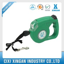 hot selling Auto led Dog Leash With light cord leash logo customised