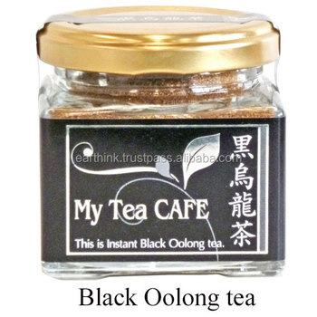 Japanese Instant Black Oolong tea powder 30g My tea cafe