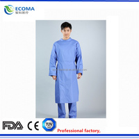 Disposable coverall,polypropylene hospital use coverall,surgical hospital gown