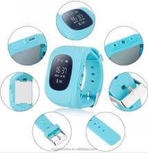 Q50 kids watch, gps locator phone tracking for kids, anti lost smart watch