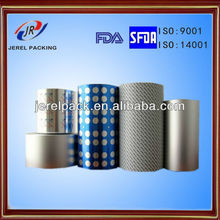 yangzhou Jerel the capsule and tablet packing material Pharmaceutical blister aluminum foil