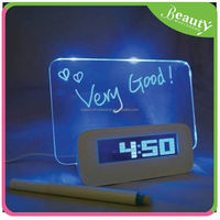 glowing led color change digital alarm clock ,H0T159 clock projector