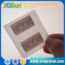 Top Level Custom-Made Unique Price Tag Ucode Slix Rfid Jewelry Label
