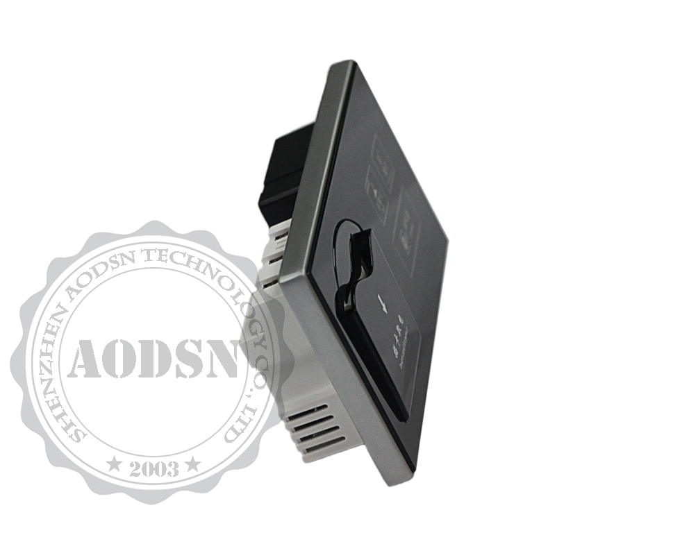 AODSN 2 way modular key card switch touch panel