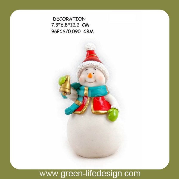Polyresin snowman christmas 2014 new hot items gifts