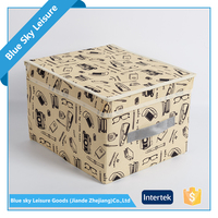 Small PP Non Woven Fabric Embossing Portable Insulated Outdoor Storage Box