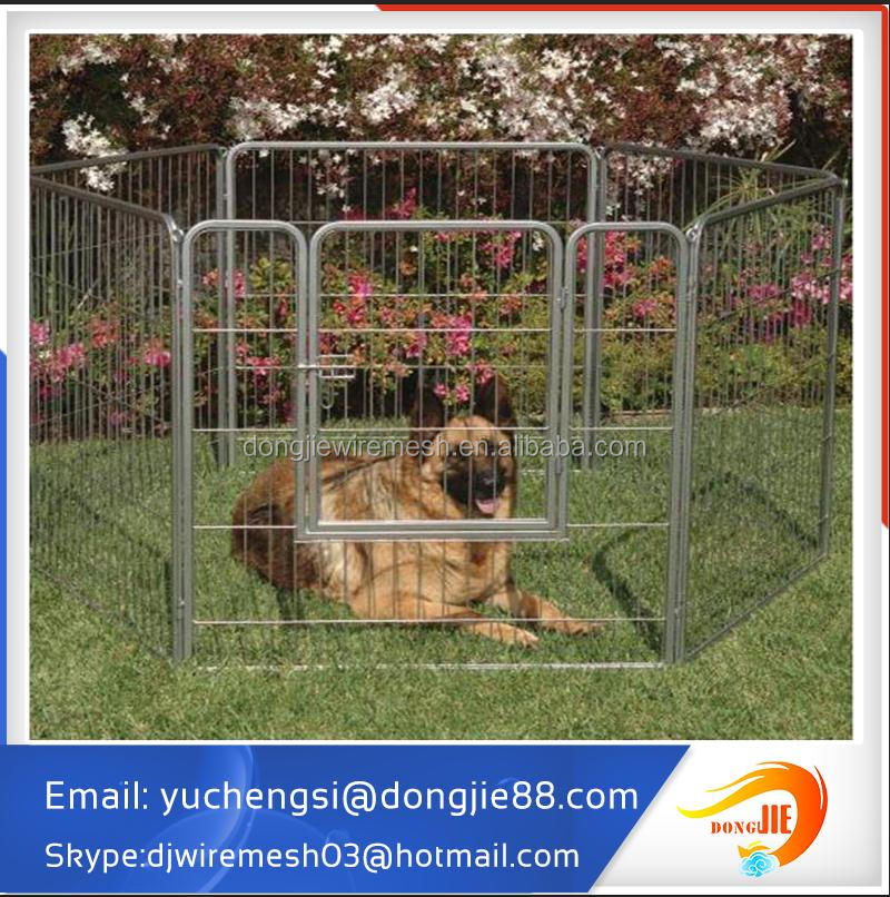 powder coating black heavy duty dog kennels and runs