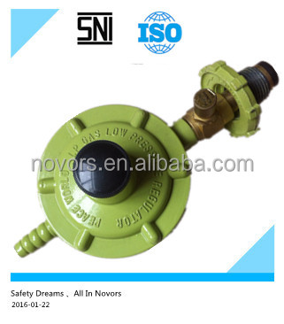 gas safety regulator with meter HM400