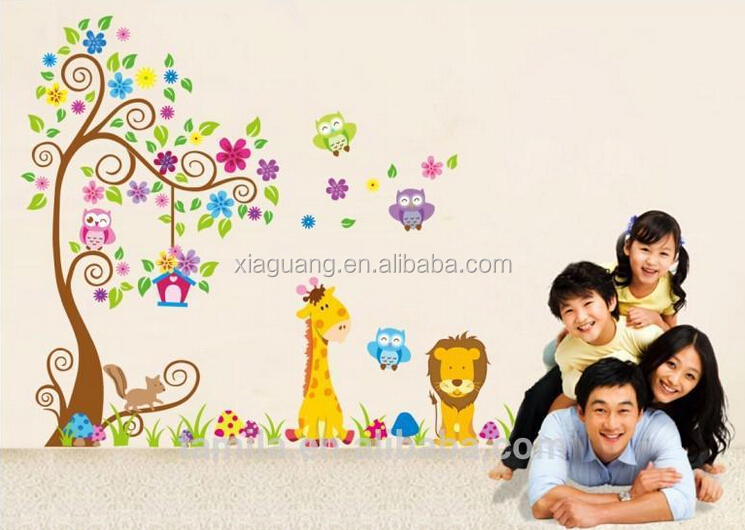 7126 Removable Decorative Children Growth Chart Room kids wall stickers