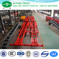 3 Axles 40ft ISO Container Chassis