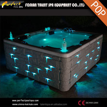 Sale Promotion Athena--5 adults&1kid luxurious acrylic outdoor spa/hot tub/bathtub with sex massage for home and hotel