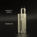 2017 teslacigs vape electronic cigarette tesla terminator box mod With Atomizer Short-Circuit Protection