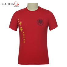Price excellent promotional supply nylon spandex t-shirt for men
