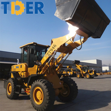 TIDER 4 ton front end loader farm tractor