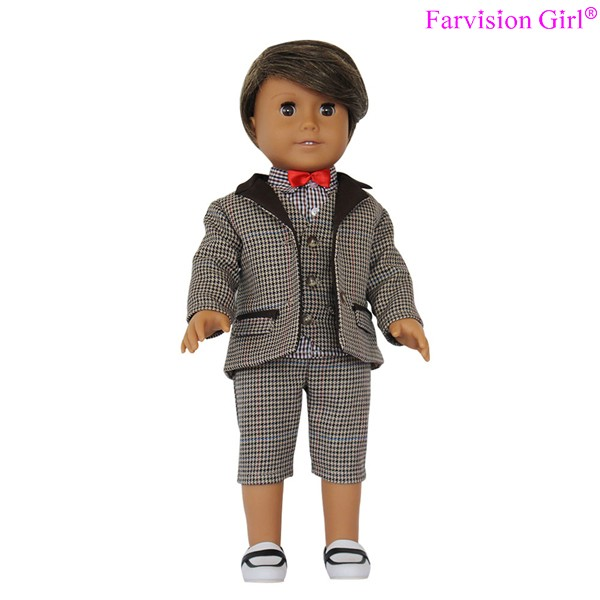 Handsome Boy Doll Clothes NEW England costume for doll