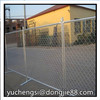 Home Garden Pvc Chain Link Fence