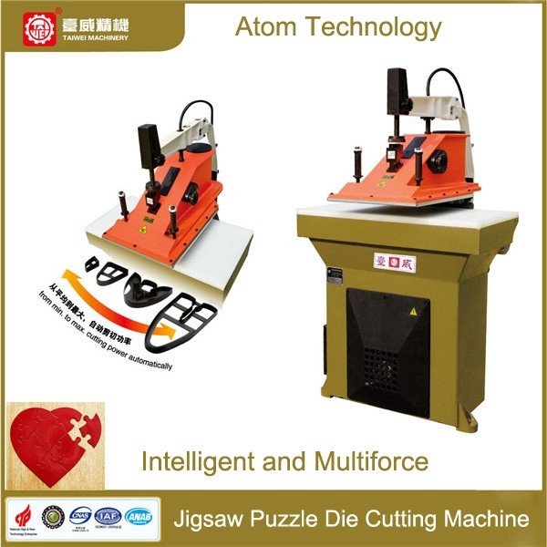 PLC hydraulic four-column towel clicker machine/beam press
