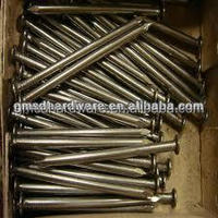 Gaomi SD common round barbed wire nails supplier
