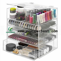 OEM/ODM China Supplier 5 Drawer Acrylic Makeup Organizer