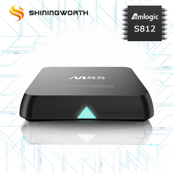 Shiningworth Original amlogic s812 android 4.4 kitkat M8S M8S Plus s812 tv box 2gb /8gb /16GB/64GB quad core kodi tv box