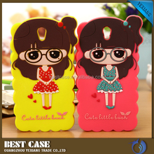 Silicone teddy bear silicone mobile phone case for Huawei P9