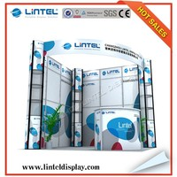 Lintel trade show standard exhibition booth display LT-ZH014