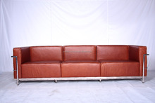 mid century modern furniture designer furniture Le Corbusier Petite Sofa 3 seater
