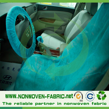 Non woven polypropylene fabric waterproof car/airline headrest seat cover