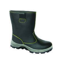 Mens waterproof steel toe boots / safety shoes