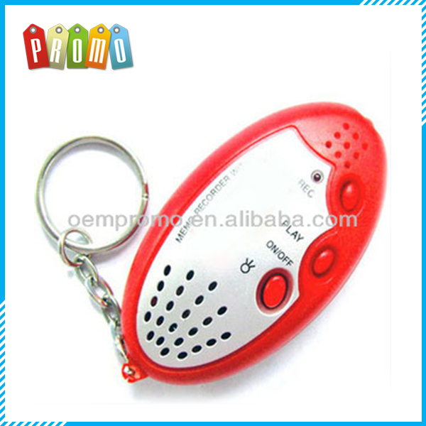 LED keychain with voice recorder (6S)