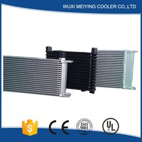 High performance aluminum intercooler for auto parts own factory