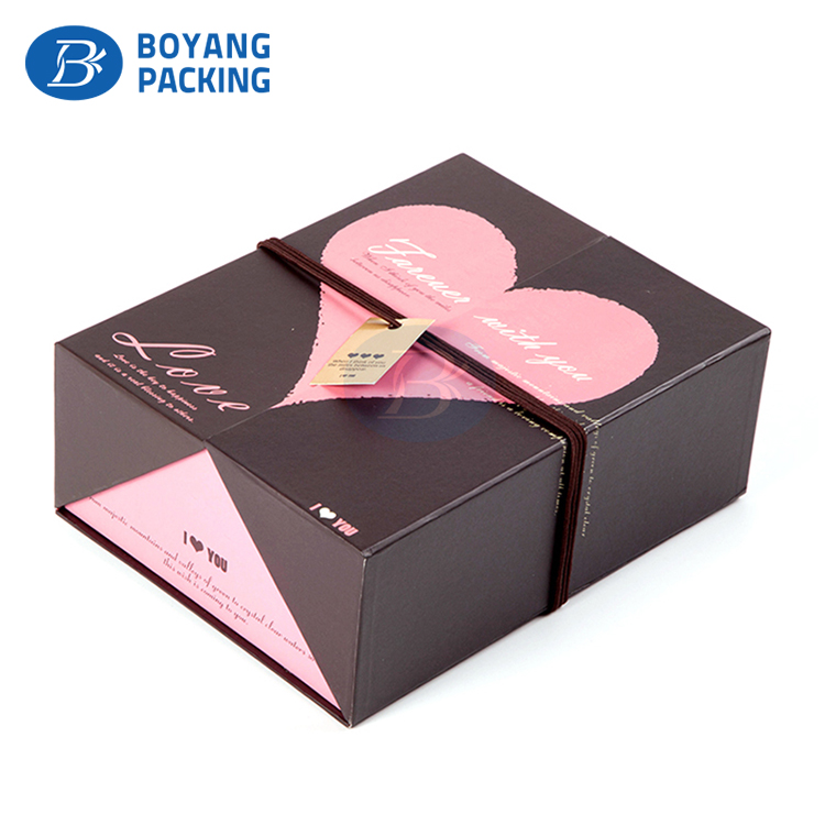 High quality promotional Eco friendly fashion paper gift packaging box