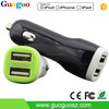 2015 Wholesale Best Quality Mini Dual USB Battery Car Charger for Samsung s4