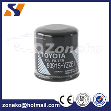 ZONEKO high performance best price metal oil filter 90915-YZZE1 For Yaris Prius
