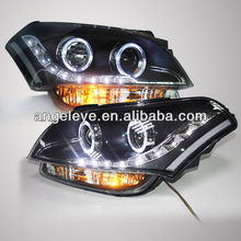 2008-2012 Year KIA Soul LED Angel Eyes Headlight with Bi Xenon Projector Lens for KIA